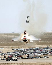 Thunderbirds F-16 Pilot Ejection Photo Print for Sale
