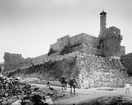 Tower of Zion, the Citadel, Jerusalem Photo Print