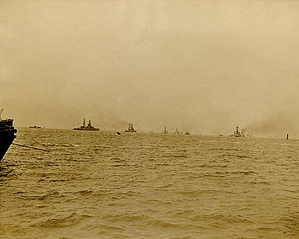 U.S. Navy Atlantic Fleet in 1920 WWI Era Photo Print