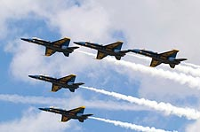 U.S. Navy Blue Angels Performing Delta Formation Photo Print for Sale