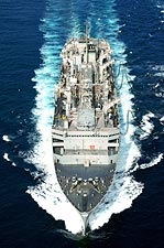 U.S. Navy USNS Arctic Fast Combat Support Ship Photo Print for Sale