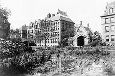 University of Chicago Lily Ponds 1890s Photo Print for Sale