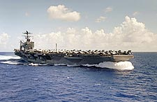 USS Abraham Lincoln (CVN 72) & Carrier Air Wing (CVW) Two Photo Print for Sale
