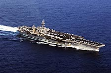 USS Kitty Hawk Aircraft Carrier Photo Print for Sale