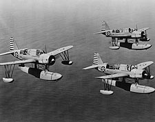 Vought OS2U Kingfisher WWII Aircraft Photo Print for Sale