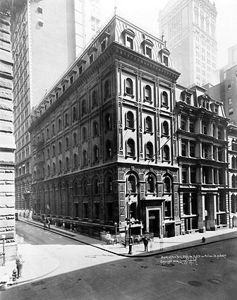 Wall Street Bank of New York Building 1922 Photo Print