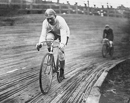 Walthour Bicycle Riders in 6-day Race 1909 Photo Print