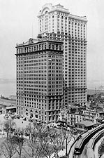 Whitehall Buildings Downtown New York 1911 Photo Print for Sale