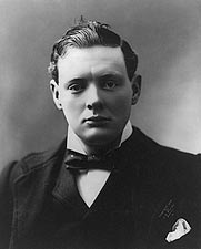 Winston Churchill Young Portrait Photo Print for Sale