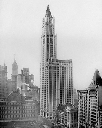 Woolworth Building 1913 New York City 1913 Photo Print