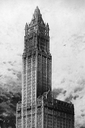 Woolworth Building Cass Gilbert NYC 1911 Photo Print