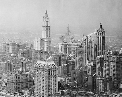 Woolworth & Singer Building, New York City Photo Print