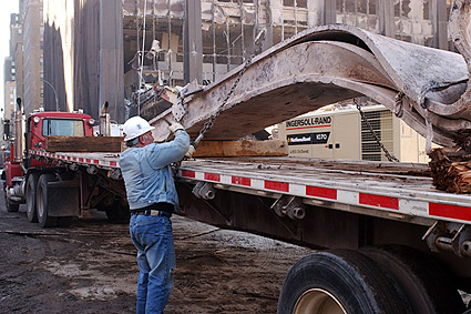 Wreckage Removal 9/11 Photo Print