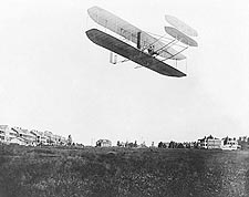 Wright Brothers Type A Flyer in Flight 1908 Photo Print for Sale
