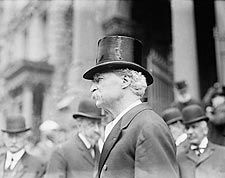 Writer Mark Twain in Top Hat Portrait Photo Print for Sale