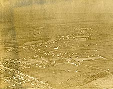 WWI Aerial View of Verdun, France Photo Print for Sale