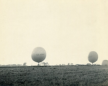 WWI U.S. Army Observation Balloons Photo Print