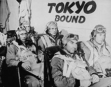 WWII Fighter Pilots Tokyo Bound Photo Print for Sale