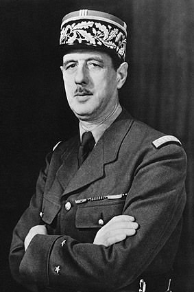 WWII French General Charles De Gaulle Photo Print
