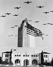 WWII Planes Formation over Randolph Field Photo Print for Sale