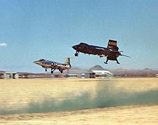 X-15 No. 3 Aircraft & F-104 Chase Plane Photo Print for Sale