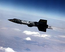 X-15 Aircraft #3 in Propelled Flight NASA Photo Print for Sale
