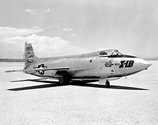 X-1B on Lakebed Bell X-1 Photo Print for Sale