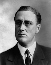 Young Franklin Delano Roosevelt Portrait 1920 Photo Print for Sale