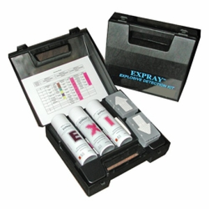 EXPRAY Explosives Detection Identification Field Test Kit (100 tests)