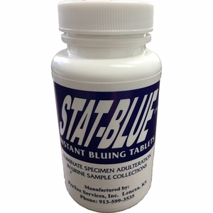 Instant Bluing Tablets - Eliminates Urine Sample Adulteration
