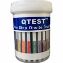 5 Panel Cup     QTEST�    CLIA Waived