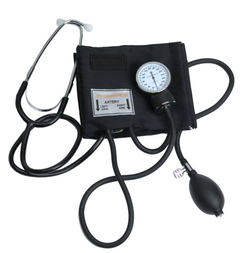 Self Taking Blood Pressure Kit With Stethoscope by Medimpex