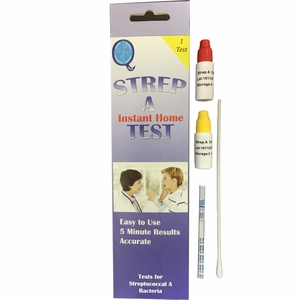 Strep A Rapid Test - Single Test