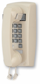 2554 Basic Wall Mount Phone with Flash & Message Waiting