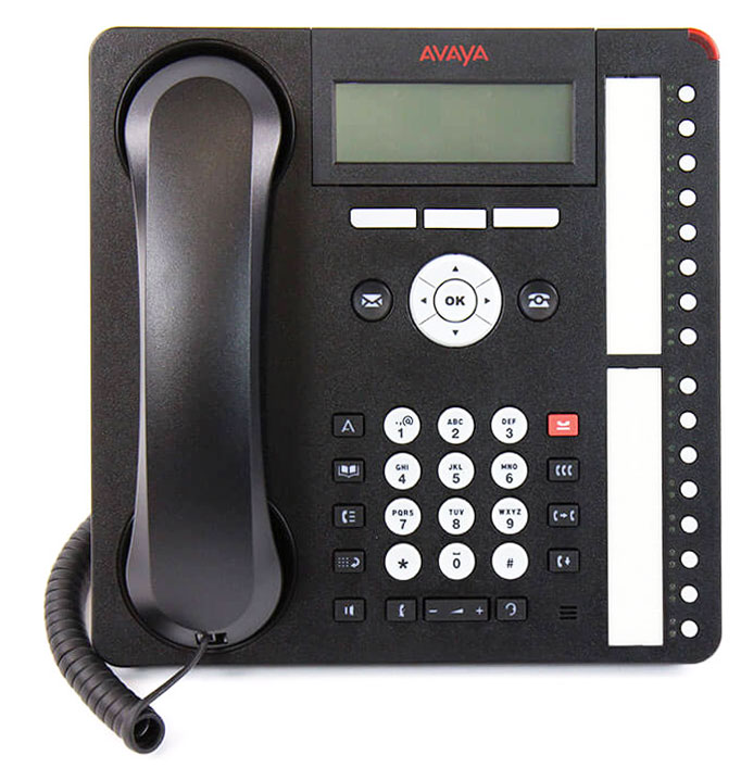 Avaya 700415573 Ip Phone 1600series 32-button Module Black