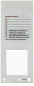 Definity 7401 Plus Telephone Labels (10 labels)