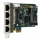 Digium TE435B 4-Port Digital PCIe Card PRI/T1/E1/J1 (1TE435BF)