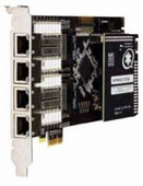 Digium TE820B 8-Span Digital Echo Cancellation PCIe Card PRI/T1/E1/J1 (1TE820F)