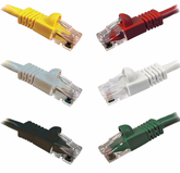 DynaCable 1 Ft. Cat. 6 Patch Cords - Booted (10/pk.)