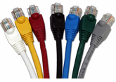 DynaCable 3 Ft. Cat. 5E Patch Cords - Booted or Non-Booted (10/pk.)