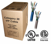 DynaCable Cat. 5E PVC Bulk Cable (1000 Ft.)