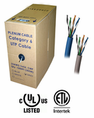 DynaCable Cat. 6 Plenum Bulk Cable (1000 Ft.)