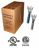 DynaCable Cat. 6 PVC Bulk Cable (1000 Ft.)