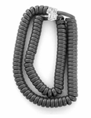 Extended Length Handset Cords for Avaya 6200 and 6400 series (Gray) 5/pk.