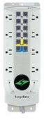 ITW Linx M8COM 8-Outlet AC Surge Protector with T1/LL, LAN, and Voice Line Protection