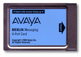 Merlin Messaging 4-Port Card (108491366)