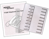 Norstar T7208 User Guide and Overlay (Lit Pack)
