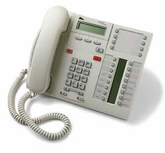 Norstar T7316E Enhanced Telephone (NT8B27) Platinum