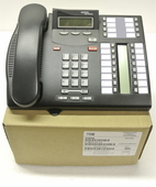 Nortel Norstar T7316E Enhanced Telephone (NT8B27) Charcoal