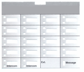 Partner 18 Telephone Labels (10 labels)